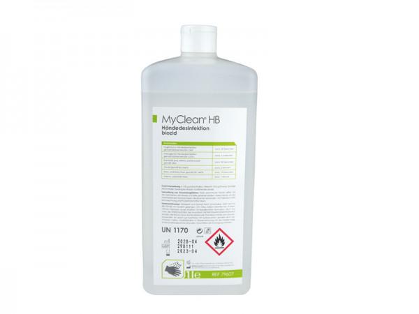 Handdesinfektionsmittel auf Ethanolbasis 1 Liter