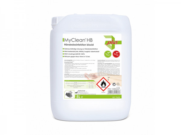 Handdesinfektionsmittel auf Ethanolbasis 5 Liter