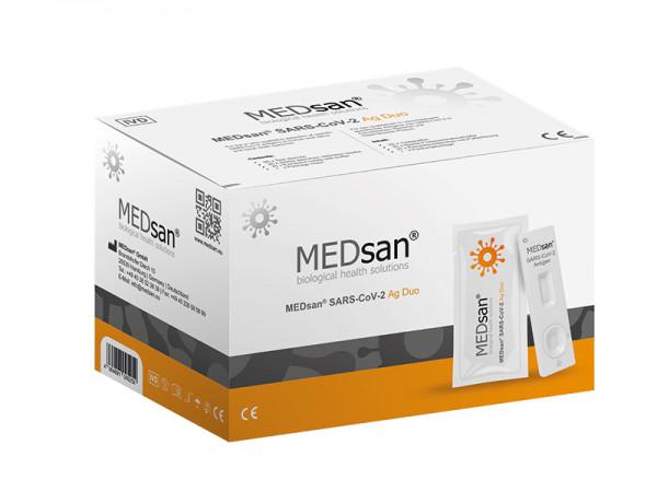 MEDsan SARS-CoV-2 Ag Duo Schnelltest 25er Set